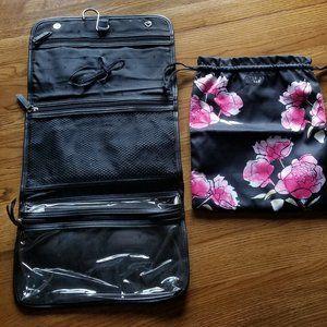 VS floral hanging travel bag & lingerie bag